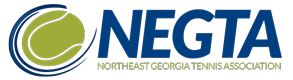 NorthEast Georgia Tennis Association Logo